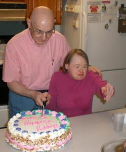 George Mavridis and Joanna Bezubka celebrate her birthday