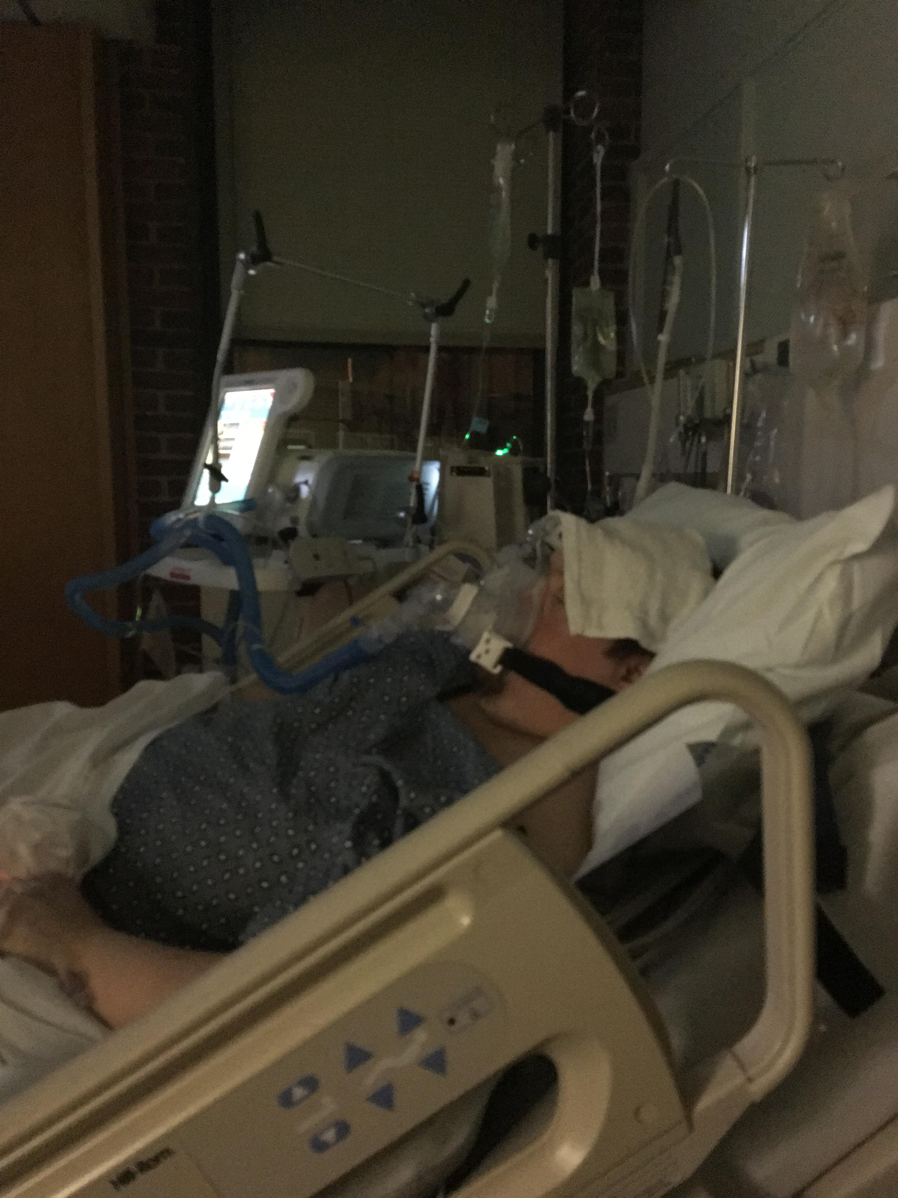 Yianni in ICU
