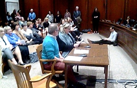 Anna and Richard at 4.30.19 hearing