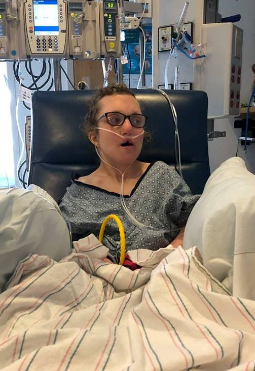 Maria recovering at BCH